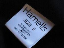 HAMELLS MetallicRedBlackWavelengthParty Size8 Petite