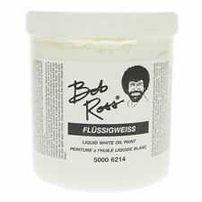 2 X Bob Ross 750006214 500ml Non-toxic Liquid White Oil Base Coat Paint