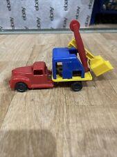 Bucket Excavator vintage vehicle Shovel Crane Scoop collectible toy REMCO man cave decor Kid\u2019s Room Decor 80s bookshelf decor