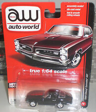 AW AUTO WORLD US CHEVY CHEVROLET CORVETTE STING RAY 427 DIECAST SCALE 1:64 NEUF