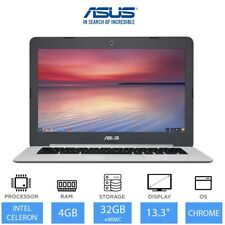 "ASUS Chromebook C301SA 13.3"" Light Weight Laptop Intel Celeron N3160, 4GB, 32GB"