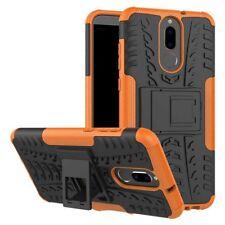 Hybrid Case 2teilig Outdoor Orange Tasche Hülle für Huawei Mate 10 Lite Etui Neu
