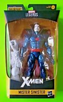"""Marvel Legends X-Men 6"""" Mr Mister Sinister Action Figure (Wendigo BAF) - NEW"""