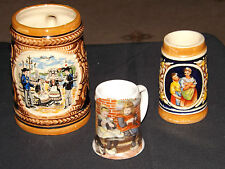 3 STEINS, 1 c1984 TER STEEGE BV.DUTCH, 1 GERMAN, 1 FRENCH BRETAGNE. VGC