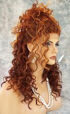 LACE FRONT LONG CURLS BRAIDED TOP CLR F33.32.240 SEXY  USA SELLER *499