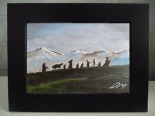 Scenescapeshop - The Fellowship - Lord of the Rings  - framed print