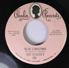 Country Christmas 45 Nat Stuckey - Blue Christmas / How Can Christmas B