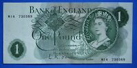 """1960 Bank of England One pound £1, O'Brien REPLACEMENT """"M14"""" banknote [21256]"""