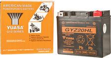 Yuasa GYZ20HL AGM High Performance Factory Activated 12 Volt Battery YUAM720GH