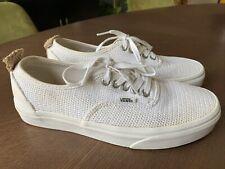 VANS Pro True White Hemp Woven Men's Shoes Size 7 RARE Women's 8.5