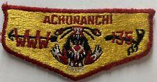 Boy Scout ACHUNANCHI LODGE 135 Oa