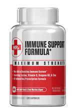 Immune Support Formula Featuring Zinc, Lysine, Vitamin C, Oregano Oil