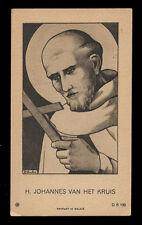 """santino-holy card""""S.GIOVANNI DELLA CROCE"""