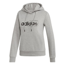 Adidas Women Hoodie Athletic Running Sports Inspired Brilliant Basics EI4631 New