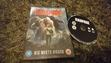 Rampage (DVD 2018) Dwayne Johnson