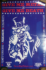 Music Poster Promo Give Me Metal Or Give Me Death ~ Corrosion Of Conformity