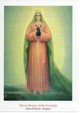 199 Maria Regina della Famiglia Madonna  Santino Holycard