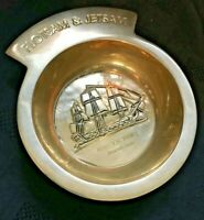"HMS Victory ""Flotsam and Jetsam"" Solid Brass Dish"
