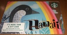 RARE! TEN (10X) 2019 Starbucks NENE GOOSE Gift Card HAWAII ONLY! LIMITED!