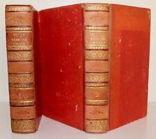 """ORFILA """"Leçons de Médecine légale"""" Edition originale Béchet 1821-23 - 2 volumes"""