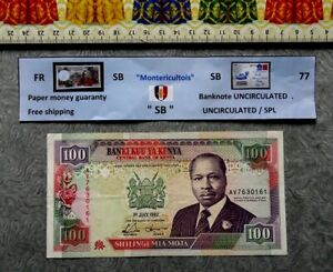 Banknote, KENYA, 100 Shilingi, Year : 1992.