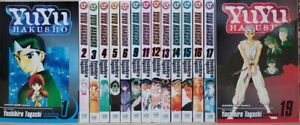 YuYu Hakusho Manga lot 15 Volumes  Yoshihiro Togashi Viz Media English