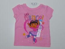 DORA~USA~74-80~Shirt~Sommer~Mädchen~The children Place~Spruch~rosa~Ballerina~neu