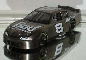 1999 PROTOTYPE Dale Earnhardt Jr #8 BUDWEISER BRUSHED METAL 1/24 car PROTOTYPE