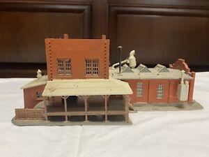 HO Scale Model Train Station 1:87 Scale
