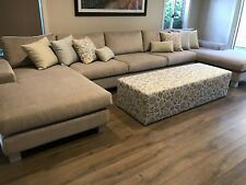 Double Chaise Sofa/ Australian Made/Custom made/Choose your fabric and size