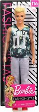 Barbie Fashionistas KEN DOLL - GAME SUNDAY #116 Malibu 01 Top Mattel