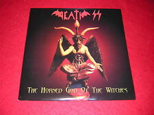 Death SS-Horned God of the Witches, bwr079, Black Widow 2 VINILE LP Set 2004