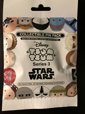 Disney Collectible Pin Pack STAR WARS TSUM S3 Mystery Bag 5 Pin Sealed in Canada