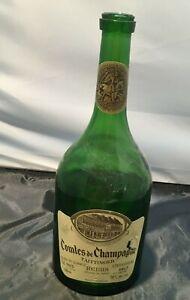1973 Taittinger de Champagne Blanc de Blanc Empty Bottle without Cork