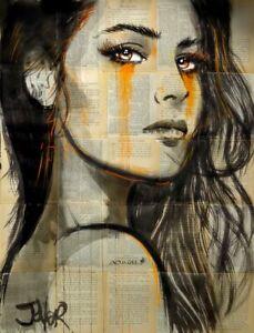 "Slow Burn, Loui Jover, Art Print Poster 14"" x 11""              1201"