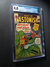 Tales to Astonish # 44 CGC 4.0 Origin and 1st appearance of the Wasp