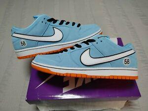 Nike SB Dunk Low Pro Club 58 Gulf Blue Chill White  BQ6817-401Mens size 11