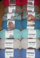 Lot of 2 Skeins Bernat Blanket Yarn, 5.3 oz/108 yds each, *You Choose Color*