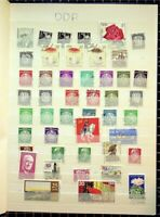 SUPER MASSIVE GERMAN DEMOCRATIC REPUBLIC COLLECTION (376 stamps and 2 Ss)