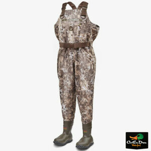GATOR WADERS - MENS OMEGA INSULATED BREATHABLE CHEST WADERS - CAMO DUCK HUNTING