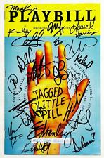 HoliBay! JAGGED LITTLE PILL Cast Kathryn Gallagher Signed Playbill