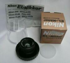 NIKON el-nikkor 50mm f2.8 Darkroom Enlarger Lens L39 fit - Excellent condition