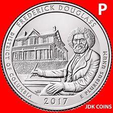2017-P FREDERICK DOUGLASS HISTORIC SITE (D.C.) QUARTER UNCIRCULATED