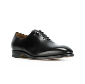 NIB Salvatore Ferragamo Carmelo Tramezza Wholecut Leather Oxfords 9EE $950.00