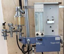 Dräger Trajan 808 Wand Narkosegerät (blau), 2 Gasgerät , Sommer-Spezialangebot !