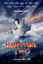 HAPPY FEET TWO 2 MOVIE POSTER 2 Sided ORIGINAL Advance 27x40