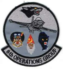 OLD USAF patch - 8th Operations Group Wolf Pack - Kunsan AB (Korea) - F-16