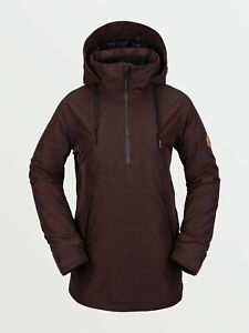 VOLCOM Snow 2021 Women's FERN INS Gore-Tex Pullover Jacket - BRD - Medium - NWT