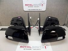 Toyota Tacoma 12-15 Black 202 Outer Mirror with Turn Signal Set Genuine OEM OE