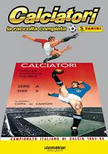 ALBUM PANINI CALCIATORI LA RACCOLTA COMPLETA 1963-64 1964 GAZZETTA DELLO SPORT